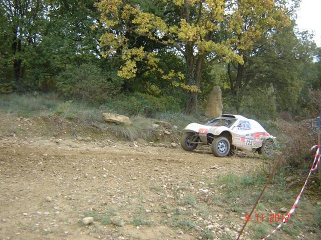 Baptême de piste en buggy de Rallye-Raid à Alès