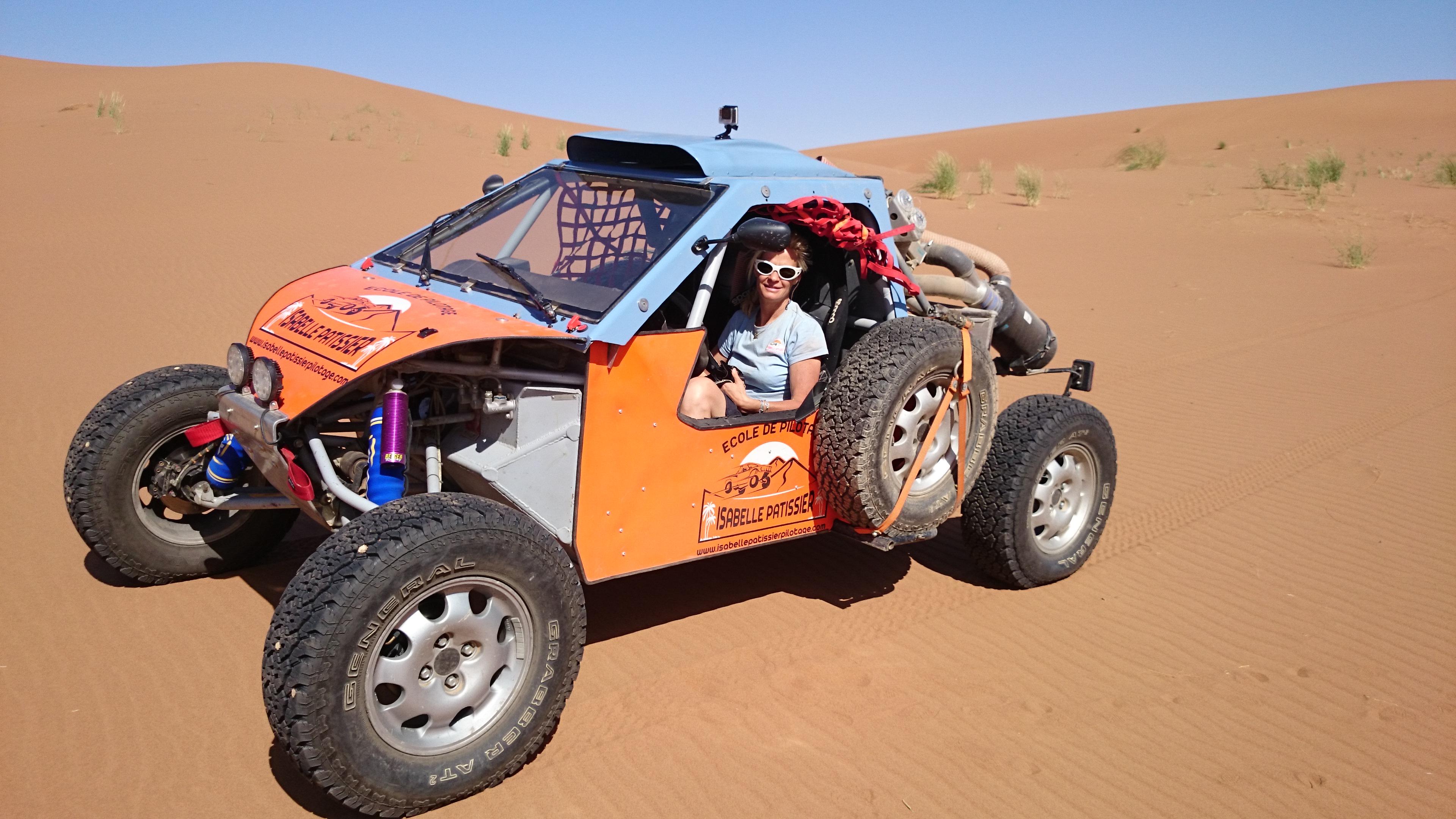 Vidéo Stage Pilotage Petit Buggy Maroc