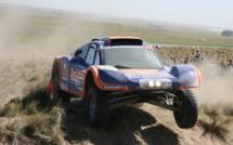 Caméra embarquée dans le buggy du Dakar 02